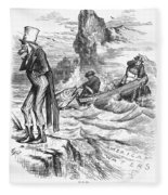 Fishing Rights, 1877 Fleece Blanket