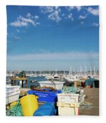 Fishing Things Fleece Blanket