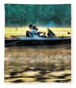 Fishing Trip Fleece Blanket
