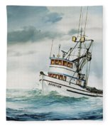 Fishing Vessel Devotion Fleece Blanket