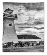 Five Islands Lighthouse Fleece Blanket
