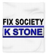 Fix Society 2nd Edition Fleece Blanket