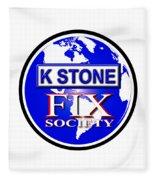 Fix Society Fleece Blanket