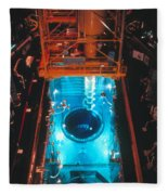 Flamanville Nuclear Power Plant Fleece Blanket