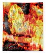 Flame Gems Fleece Blanket