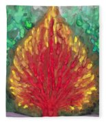 Flame Fleece Blanket