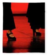 Flamenco 2 Fleece Blanket