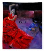 Flamenco 88 Fleece Blanket