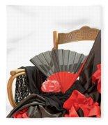 Flamenco Clothing  Fleece Blanket