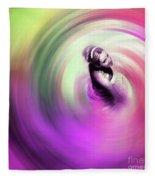 Flamenco Dance Art 675y Fleece Blanket