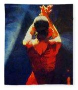 Flamenco Dolores Fleece Blanket
