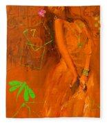 Flamenco Fleece Blanket