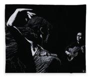 Flamenco Recital Fleece Blanket