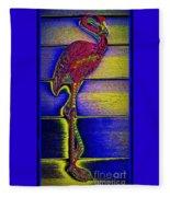 Flamingo IIi Fleece Blanket