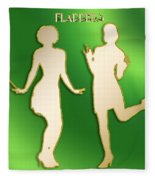 Flappers 3 Fleece Blanket