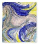 Flash Dance Fleece Blanket