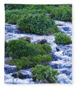 Flat Tops Stream Fleece Blanket