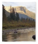 Flathead River Fleece Blanket