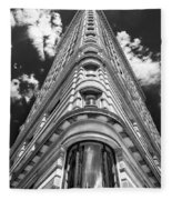 Flatiron Building  Nyc Fleece Blanket