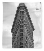 Flatiron Skies Fleece Blanket