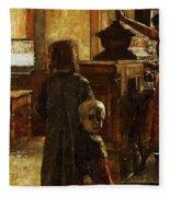 Flemish Tavern Fleece Blanket