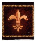 Fleur De Lys-king Charles Vii Fleece Blanket