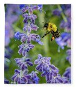 Flight Of The Bumble Bee Fleece Blanket