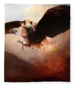 Flight Of The Eagle Fleece Blanket