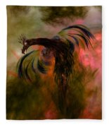Flight Of The Phoenix Fleece Blanket