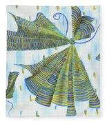 Flights Of Fancy Fleece Blanket