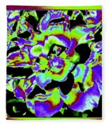 Flin Flon Rose Fleece Blanket