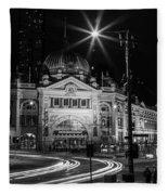 Flinders Street Station Fleece Blanket