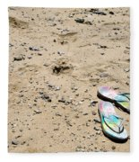 Flipflops Fleece Blanket