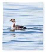 Float Grebe Fleece Blanket