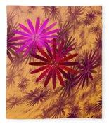 Floating Floral - 005 Fleece Blanket