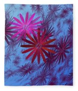 Floating Floral -003 Fleece Blanket