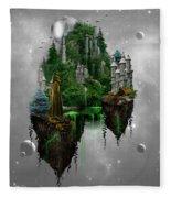 Floating Kingdom Fleece Blanket