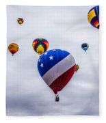 Floating Upward Fleece Blanket