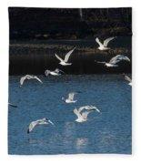 Flock Of Them Fleece Blanket