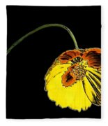 Flora Fleece Blanket