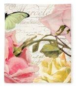 Florabella I Fleece Blanket
