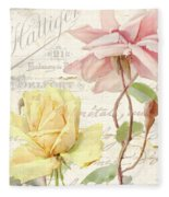 Florabella Iv Fleece Blanket