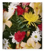 Floral 1 Fleece Blanket