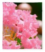 Floral 4 Fleece Blanket