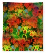 Floral Abundance Fleece Blanket