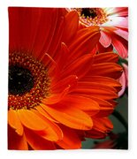 Floral Art Fleece Blanket