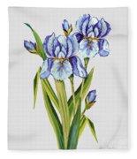 Floral Botanicals-jp3786 Fleece Blanket