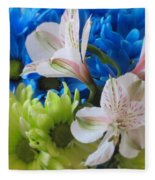 Floral Bouquet 1 Fleece Blanket