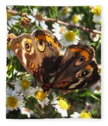Floral Buckeye Fleece Blanket