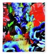 Floral Celebration Fleece Blanket